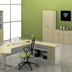 Executive Table+Side Connection+Combination Of Low Cabinet+Low&High Cabinet