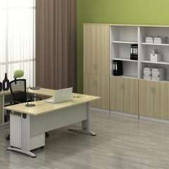 Executive Table+Side Connection+Mobile Pedestal+Combination Of Low Cabinet+HIgh Cabinet