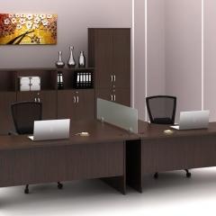 Superior Compact Table(L)+Medium&High Cabinet