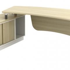 Director Table Set+Side Cabinet