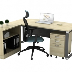 Executive Table+Mobile Pedestal+Low Cabinet-a