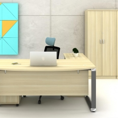 Executive Table+Mobile Pedestal+Low Cabinet-b