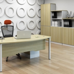 Executive Table+Storage Cabinet